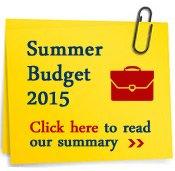 Summer Budget Statement 2015