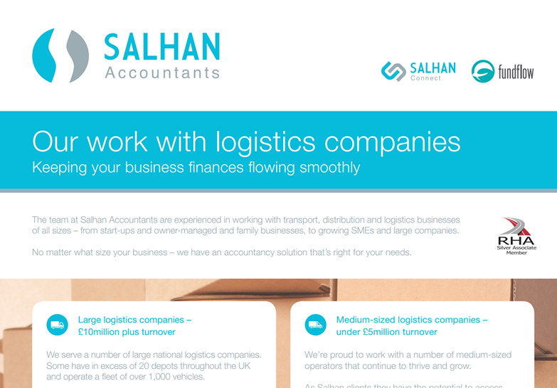 Our work with logistics companies